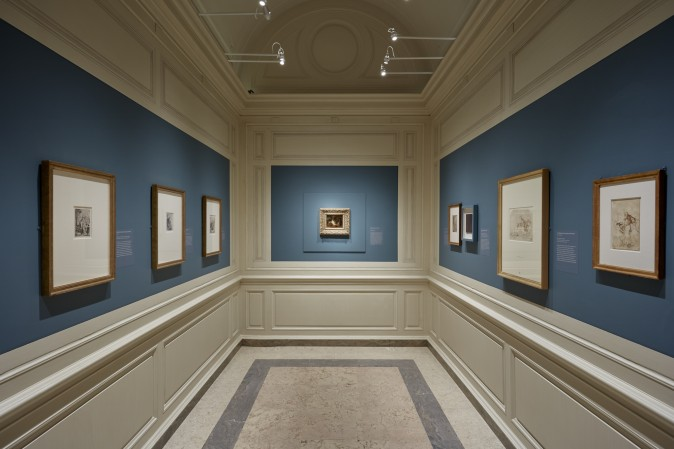 """""""Divine Encounter: Rembrandt's Abraham and The Angels"""" exhibition at The Frick Collection, May 30  through August 20, 2017. (The Frick Collection)"""