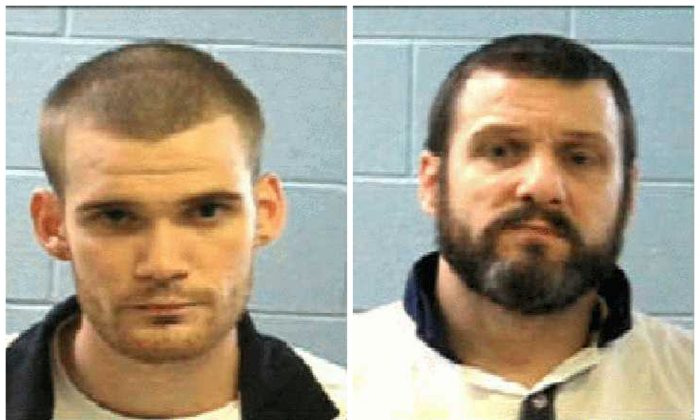 Two escapted inmates Ricky Dubose (L) and Donnie Russell Rowe (R) are seen in these Georgia Department of Corrections photos released after their escapte from Putnam County, southeast of Atlanta, Georgia on June 13, 2017. (Courtesy Georgia Corrections/Handout via REUTERS)