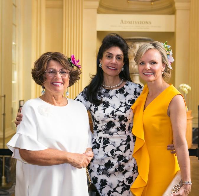 Bibi,  Ayesha Bulchandani, and Monika McLennan. (Benjamin Chasteen/The Epoch Times)
