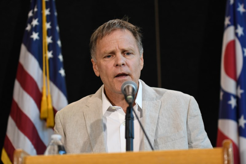 Fred Warmbier, father of Otto Warmbier, during a news conference in Cincinnati, Ohio on June 15, 2017. (REUTERS/Bryan Woolston)