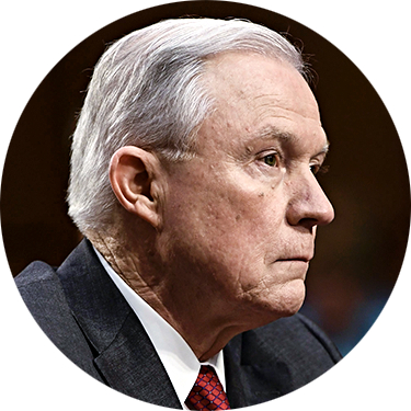 Attorney General Jeff Sessions on June 13. (BRENDAN SMIALOWSKI/AFP/GETTY IMAGES)