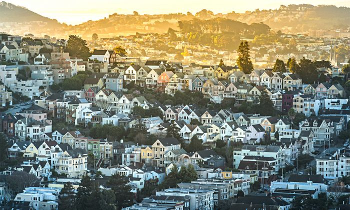 A neighborhood in the San Francisco Bay Area in this file photo. According to a poll by the Bay Area Council, a growing number of residents are considering leaving the Bay Area. (PUNG/SHUTTERSTOCK)