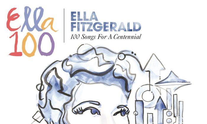 New CD collection of Ella Fitzgerald. (Verve)