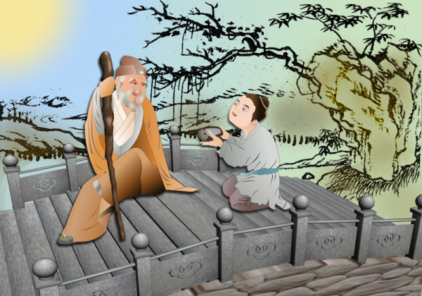 Zhang Liang, one of the Three Heroes of the Early Han Dynasty, was known for his tolerance and respect for the elderly. (Catherine Chang/Epoch Times)
