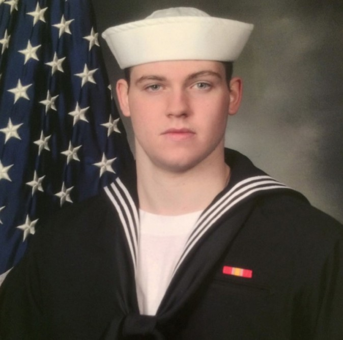 Gunner's Mate Seaman Dakota Kyle Rigsby, 19, from Palmyra, Virginia, one of the dead sailors identified by the U.S. Navy from a collision between the U.S. Navy destroyer USS Fitzgerald and Philippine-flagged merchant vessel, is seen in this undated handout photo released by the U.S. Navy on June 19, 2017. Courtesy of U.S. (Navy/Handout via Reuters)