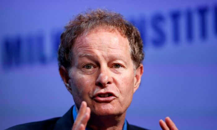 John Mackey speaks at the Milken Institute Global Conference in Beverly Hills, Calif., on May 2, 2016. (Reuters/Lucy Nicholson)