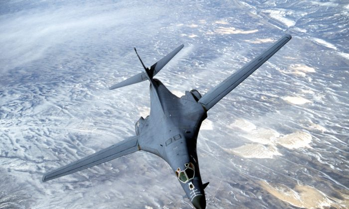 A B-1B Lancer. (Courtesy USAF/Getty Images)