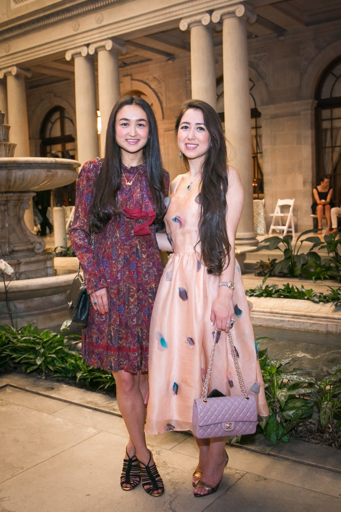 Meher Mamoor with her sister Maha.  (Benjamin Chasteen/The Epoch Times)