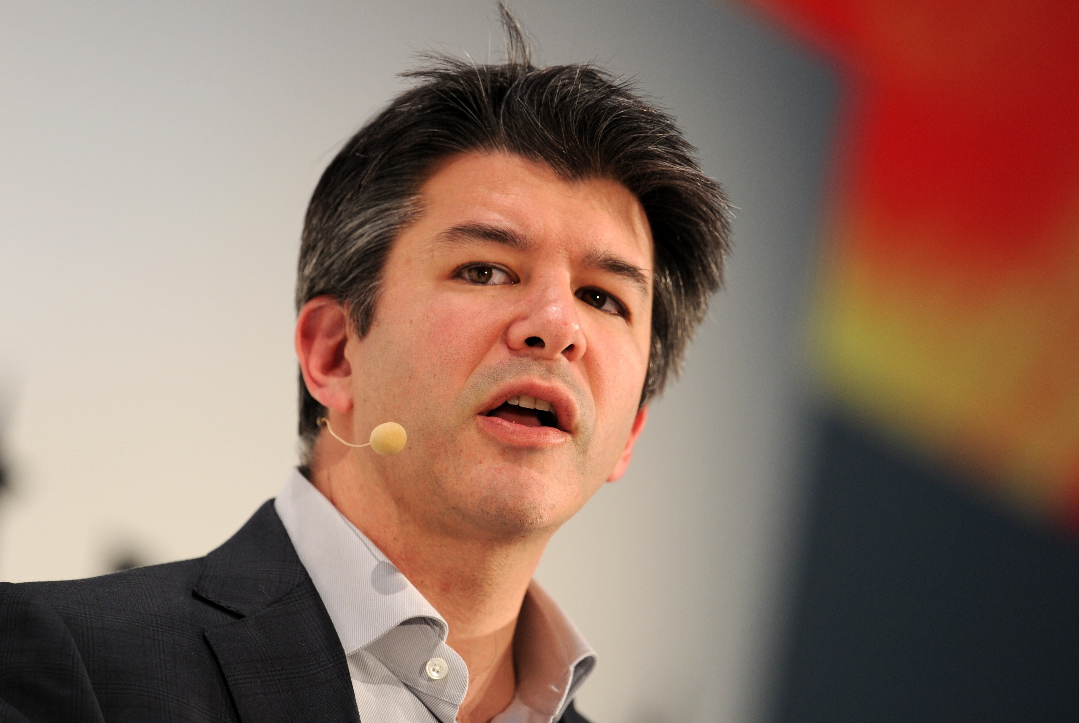 Travis Kalanick, co-founder and CEO of Uber, speaks during the opening of the Digital Life Design (DLD) Conference in Munich, Germany in 2015. He announced he was stepping down from his role with the ride-sharing giant on June 20, 2017. (Tobias Hase/AFP/Getty Images)