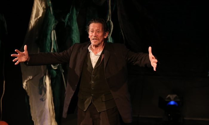 """Irish actor Brendan Conroy appears in the one-man show """"The Aran Islands,"""" about the inhabitants of the islands as seen by playwright John Millington Synge around the turn of the 19th century. (Carol Rosegg)"""