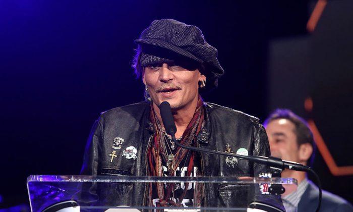 Actor Johnny Depp. (Jesse Grant/Getty Images for NAMM)