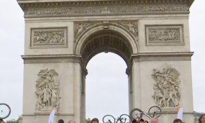Paris Olympic Day Festivities Open New Pathways for Bikers