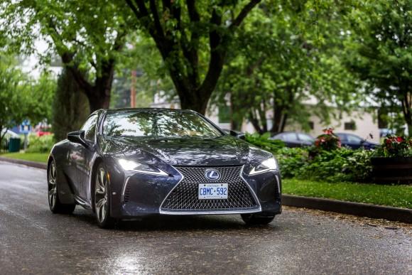 Lexus LC 500h (Courtesy of AJAC)