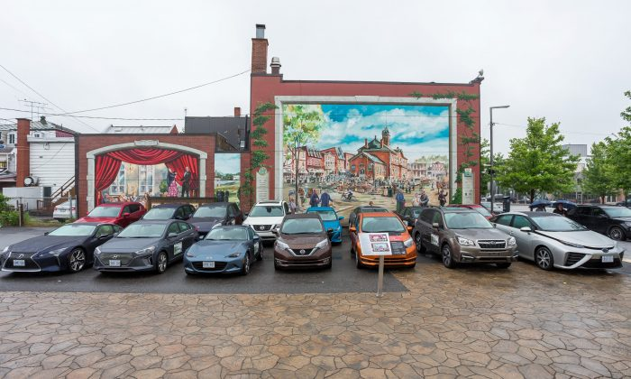 Many EcoRun autos (Courtesy of AJAC)