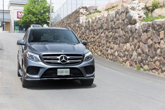 Mercedes-Benz GLE 550e (Courtesy of AJAC)