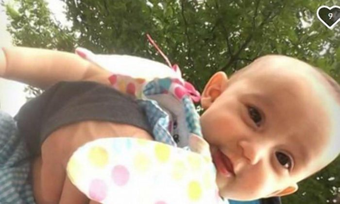 Zayla Hernandez was left unsupervised by her mother in a bathtub filled with water. (Photo: GOFUNDME)
