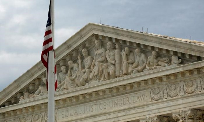 A view of the U.S. Supreme Court building is seen in Washington, D.C., on Oct. 13, 2015. (Jonathan Ernst/Reuters)