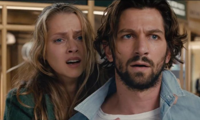 """Teresa Palmer and Michiel Huisman in the """"Ground Hog's Day""""-esque feature, """"2.22."""" (Fox Studios)"""