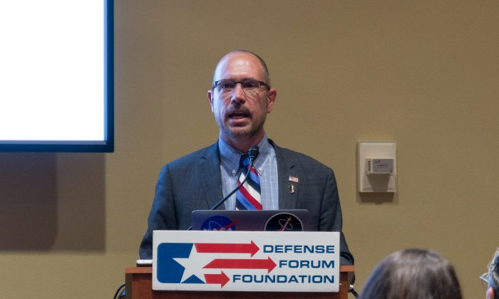 Greg Autry spoke at the Rayburn House Office Building on June 23 at an event held by the non-profit Defense Forum Foundation.