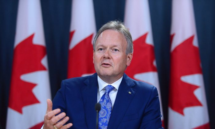 Bank of Canada governor Stephen Poloz holds a press conference in Ottawa on June 8. Bank of Canada communication in late June has given markets cause to raise expectations of an interest rate hike in 2017, something deemed unlikely at the time of the central bank's last decision date on May 24, 2017. (The Canadian Press/Sean Kilpatrick)