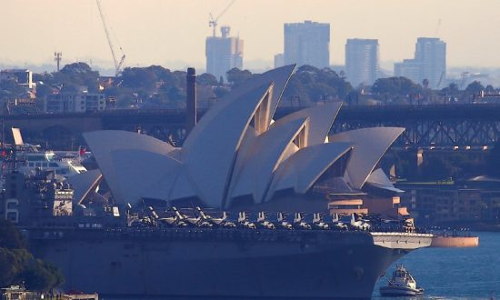 Beijing's Naval Strategy May Target Australia's Largest Ports