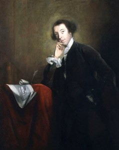 Portrait of Lord Horace Walpole, Fourth Earl of Orford, by Joshua Reynolds, National Portrait Gallery. Walpole revisited the accusation against Richard to determine the truth about the king. (Public Domain)