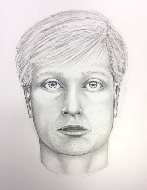 A police sketch of the suspect. (West Goshen Township Police Department)