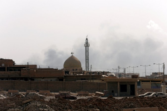 A mosque is seen in the Old City in Mosul, Iraq, July 3, 2017. (REUTERS/Ahmed Jadallah)