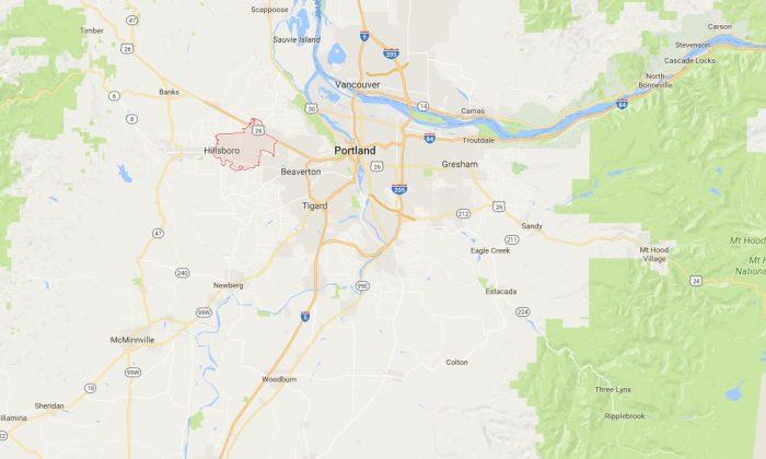 Hillsboro, Oregon (Google Maps)