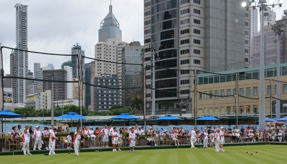 More than 600 bowlers participate in the Reunification Cup to celebrate the 20th anniversary of the establishment of the HKSAR on July 1 and 2. (Stephanie Worth)