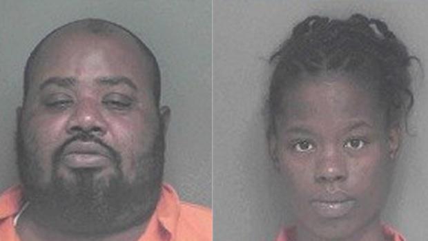 Nathaniel Eric Smith, left, and Latasha Smith (APPLING COUNTY SHERIFF'S OFFICE)
