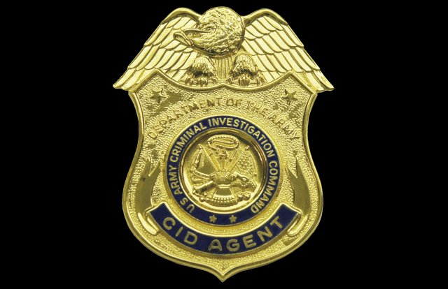 The U.S. Army Criminal Investigation Command Badge