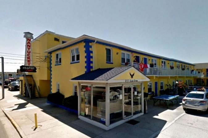 Nantucket Inn on Ocean Avenue in Wildwood (Google Street View)