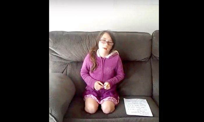 Emily Pooler appeals for help finding a kidney donor as she faces stage four chronic kidney disease. (Youtube)