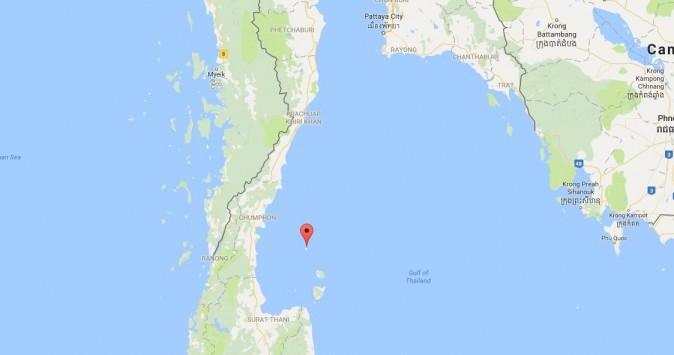 Koh Tao (Google Maps)