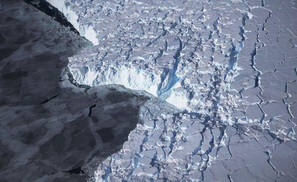 Antarctica ice mass