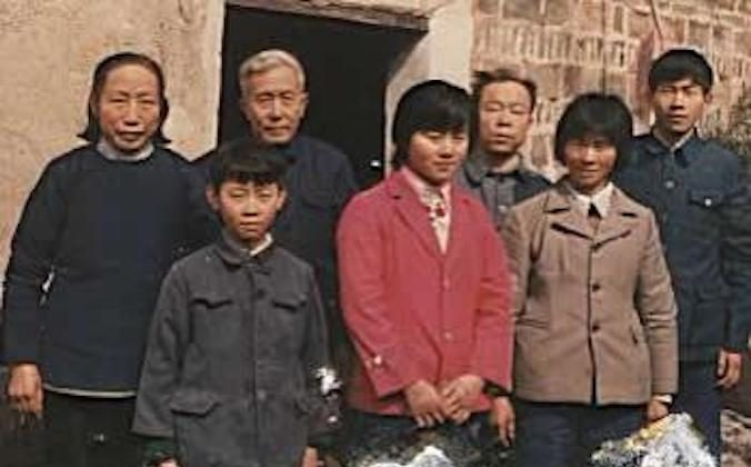 Brothers Wanqing Huang and Xiong Huang with their family in China. (Courtesy of Xiong Huang)