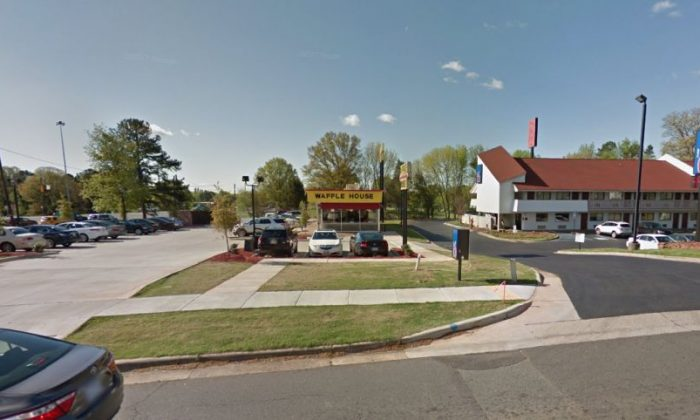 A Waffle House in Charlotte (Google Maps)