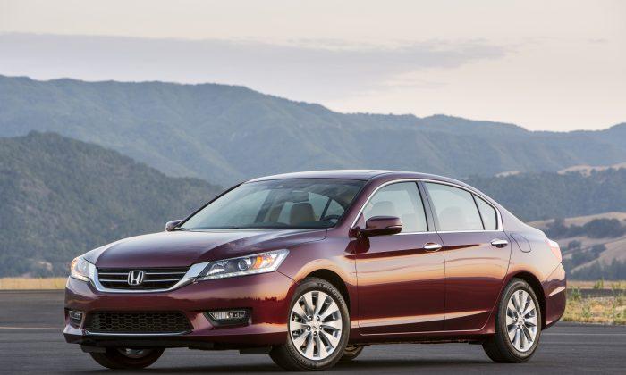 2013 Honda Accord EX-L V-6 Sedan. (Honda Motor Company)