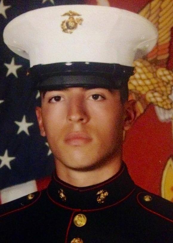 Corporal Daniel L. Baldassare of VMGR-452 in Orange County, New York. (Photo via U.S. Marine Corps Forces Reserve)
