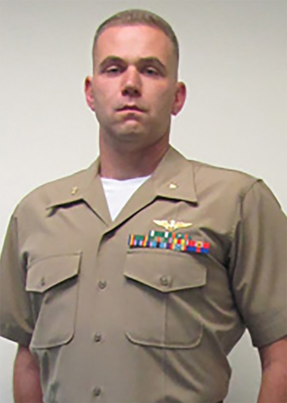 Major Caine M. Goyette of VMGR-452 in Orange County, New York. (Photo via U.S. Marine Corps Forces Reserve)