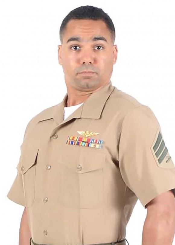 Sergeant Julian M. Kevianne of VMGR-452 in Orange County, New York. (Photo via U.S. Marine Corps Forces Reserve)