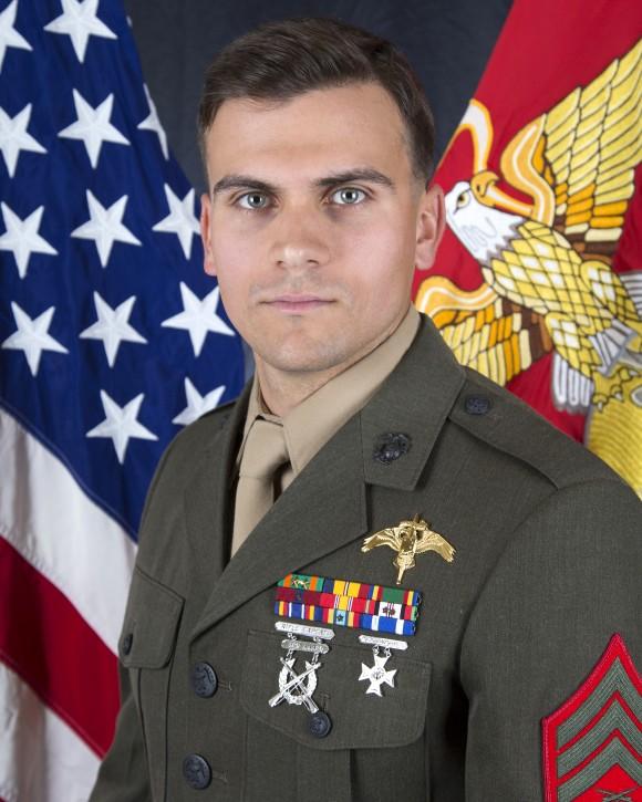 Sergeant Joseph J. Murray of 2D Raider Battalion in Camp Lejeune, North Carolina. (Photo via U.S. Marine Corps Forces Reserve)