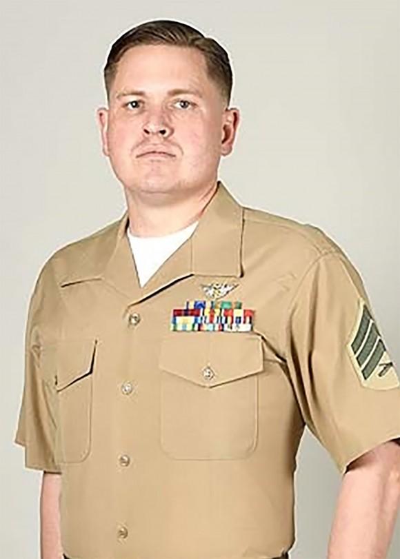 Staff Sergeant Joshua M. Snowden of VMGR-452 in Orange County, New York. (Photo via U.S. Marine Corps Forces Reserve)