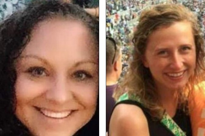 Jessica Edens, 36, (left) shot 28-year-old Meredith Leigh Rahme (right)   (Facebook)