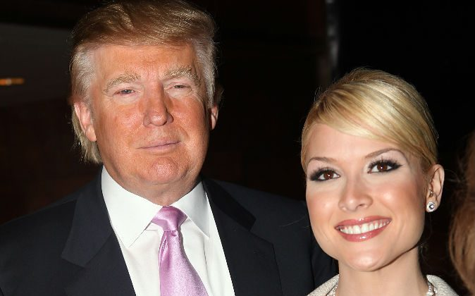 Donald Trump and former Miss USA Tara Conner attend 'The Girls Of Hedsor Hall' press conference at Trump Tower on January 29, 2009 in New York City. (Scott Gries/Getty Images)