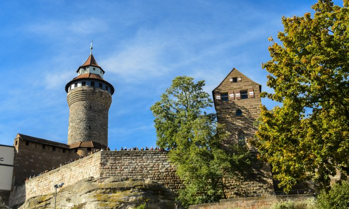 Kaiserburg Castle and the Sinwellturm tower. (Congress & Tourismus Zentrale Nürnberg/Niklas Uwe)