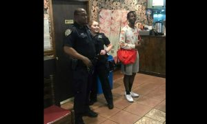 NYPD Officers Treat Man to Shrimp and Broccoli