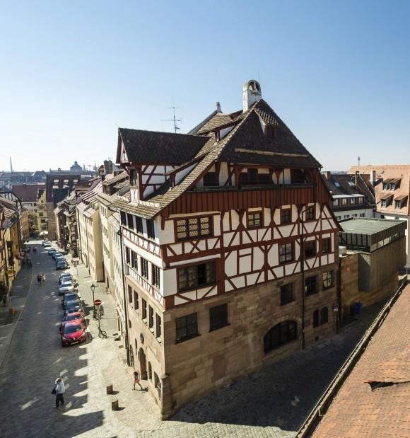 Albrecht Dürer House. (Congress & Tourismus Zentrale Nürnberg/Niklas Uwe)