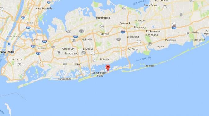 Gilgo Beach, NY (Google Maps)
